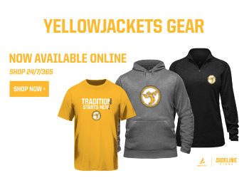 Shop now. Get your yellow jackets gear
