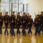 JROTC Color Guard and Drill Team Competition 01-28-2017