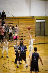 CCHS Boys Varsity Basketball vs Mesa Ridge 2017-02-14