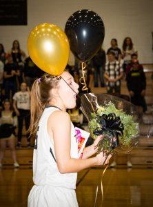 CCHS Senior Night Girls Basketball, Dance, Cheer 2017-02-16