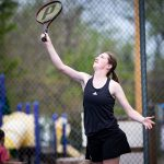 Canon City High School Girls Varsity Tennis beat Widefield High School 7-0