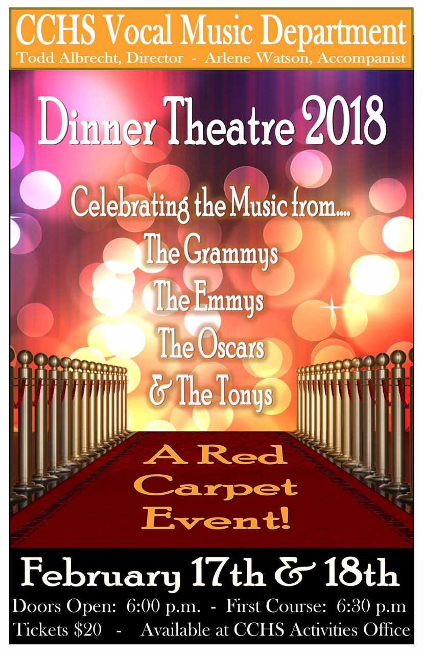 2018 Dinner Theater Feb. 17th & 18th!