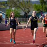 Girls Varsity Track finishes 6th place at Canon City Blossom Invite @ Canon City High School