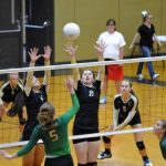Tiger Volleyball Wins Opening Match of Season