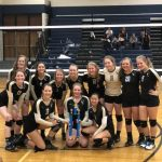 Tiger Volleyball Wins the Mitchell Tournament