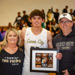 Senior Night Basketball and Cheer 2019-02-12