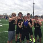 Boys Varsity Track finishes 4th place at Invitational @ Fountain Fort Carson High School