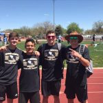 Boys Varsity Track finishes 1st place at Canon City Blossom Invite @ Canon City High School