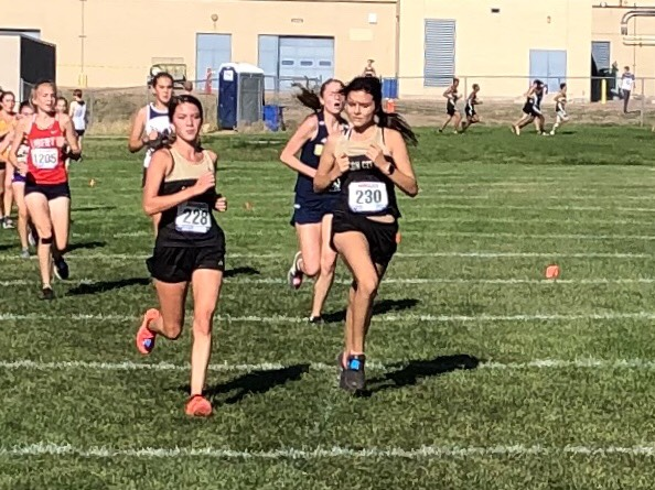 CCHS Cross Country Competes at Air Academy