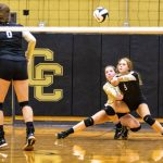 Volleyball beats Centennial in three games