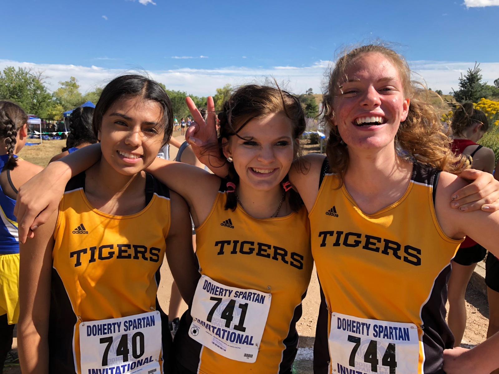 CCHS Cross Country Competes at Doherty Invitational