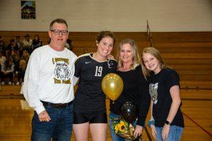 Volleyball Senior Night 2019-10-24