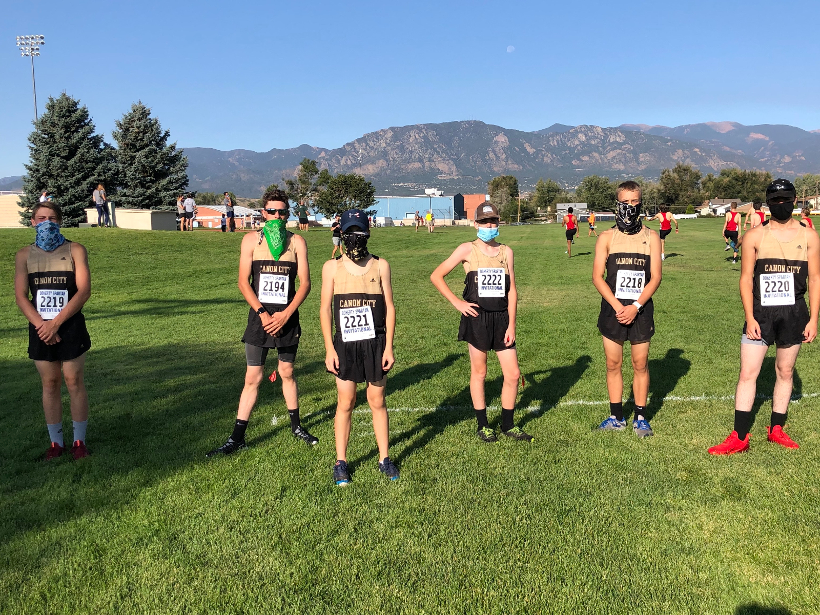 CCHS Cross Country at Widefield