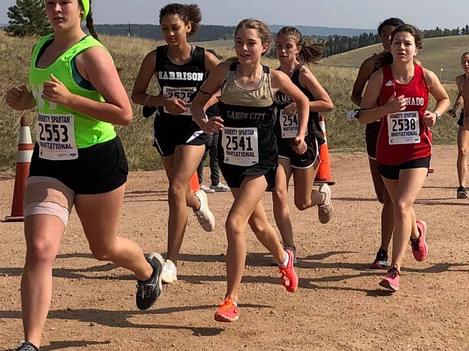 CCHS Cross Country at Woodland Park