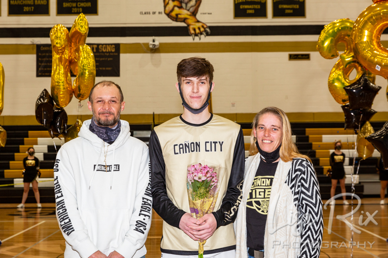 CCHS Boys Basketball Senior Night 2021