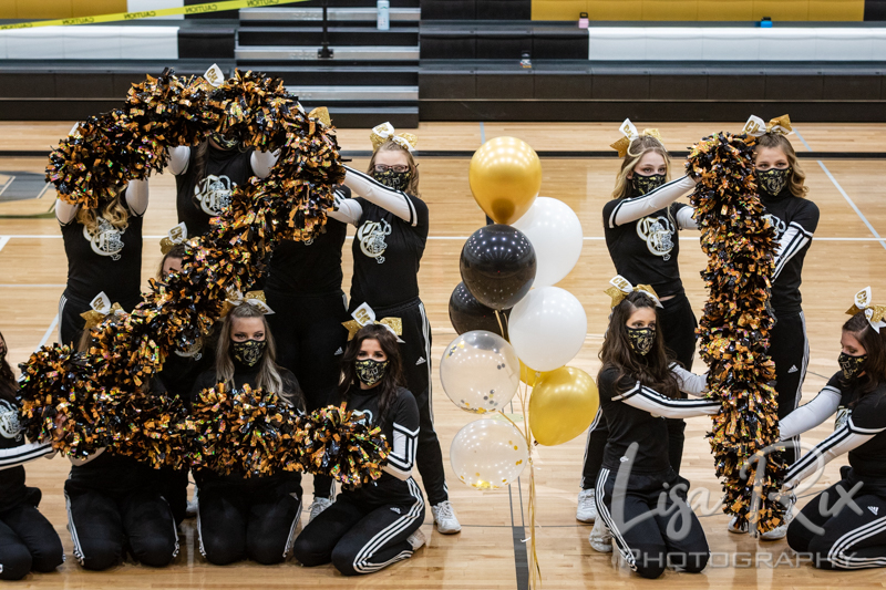 CCHS Cheer Senior Night 2021