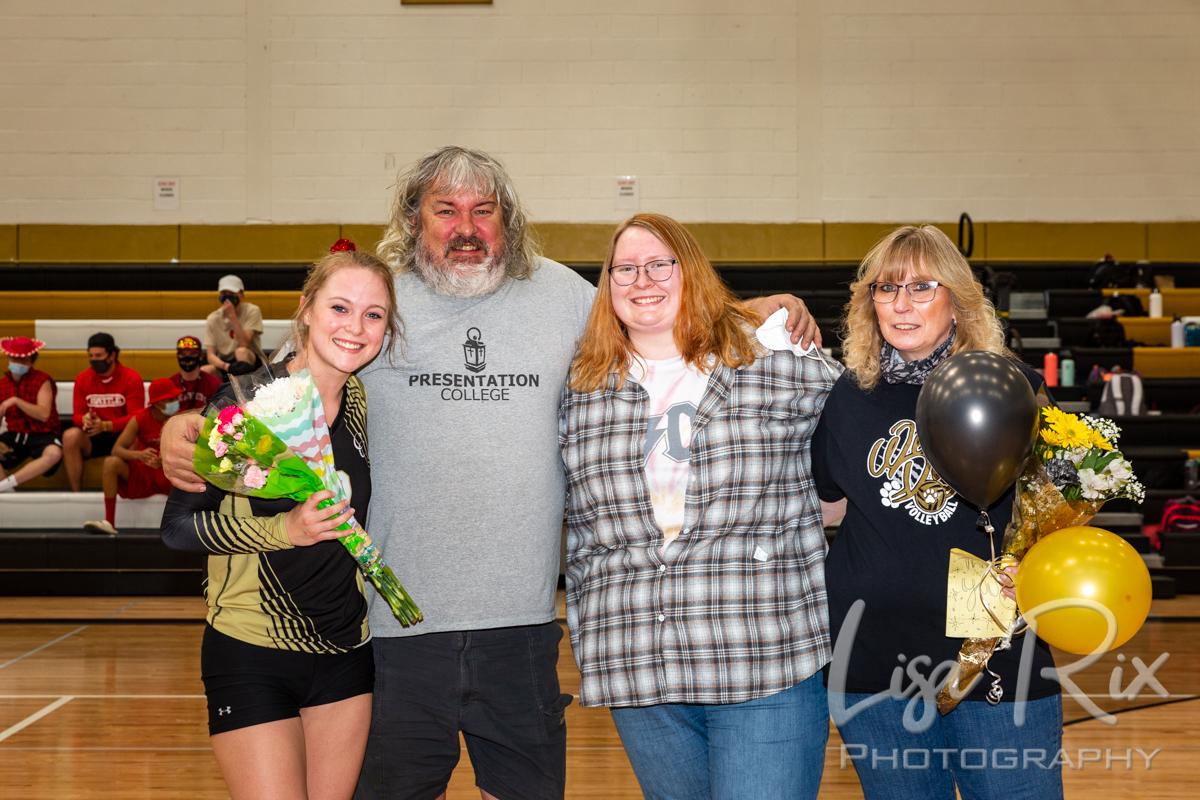 CCHS Volleyball Senior Day