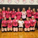 Ladyhawks Defeat visiting Tigers on Playing for a Cure Night 3-1