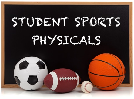 Athletic Physicals May 1st & 23rd
