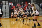 JV Volleyball beats UC