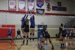 Varsity Volleyball falls to CCC Champion contender Tri-Village