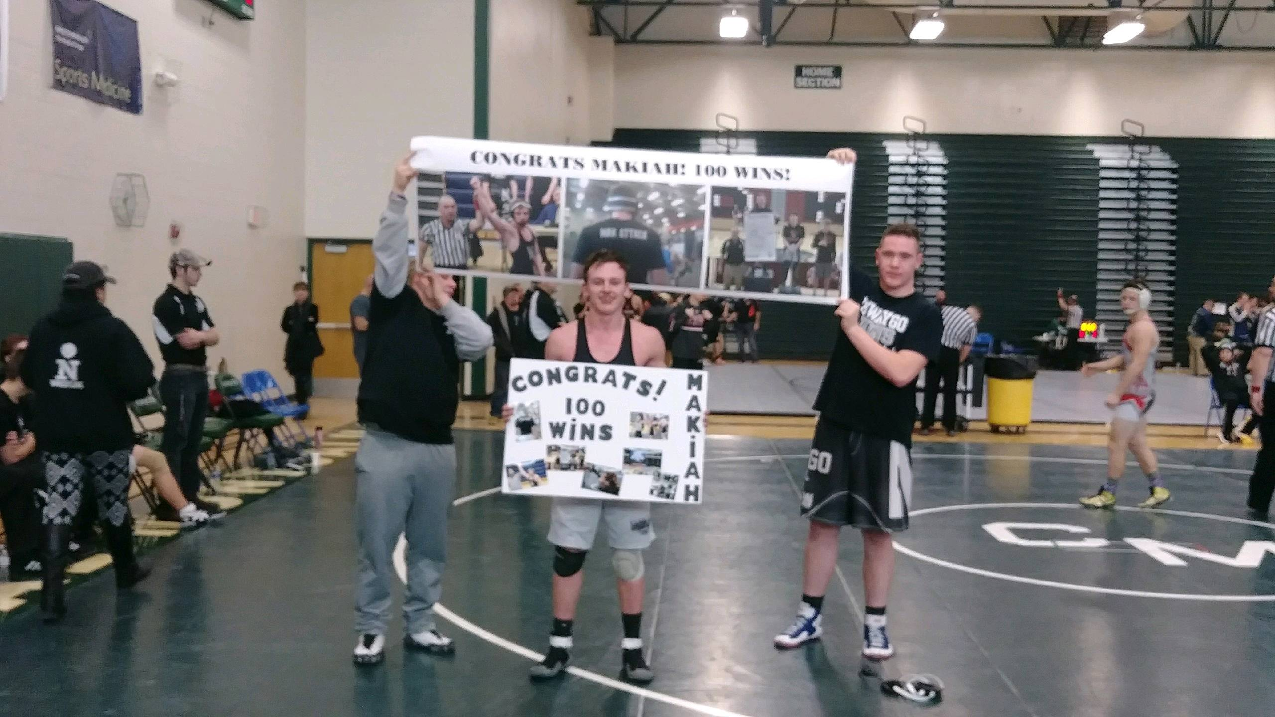 Mccracken Picks up Win #100