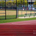 baseball and track
