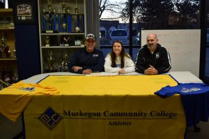 Mya with Coaches