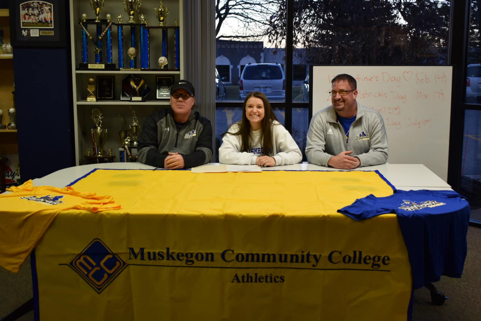 Mya Berwald Signs With Muskegon Community College