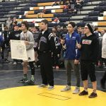 Boys Varsity Wrestling finishes 10th place at Battle Creek Central Invite