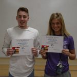 Dalman and Baylis February Independent Bank Athletes of the Month