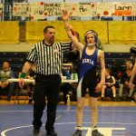 Boys Middle School Wrestling finishes 6th place at Mason Invitational