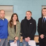 Wolcott and Velasco March Independent Bank Athletes of the Month