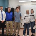 Foria and Tillottson April Independent Bank Athletes of the Month