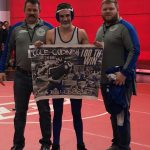 Cole Cudney Competing in Wrestling State Finals