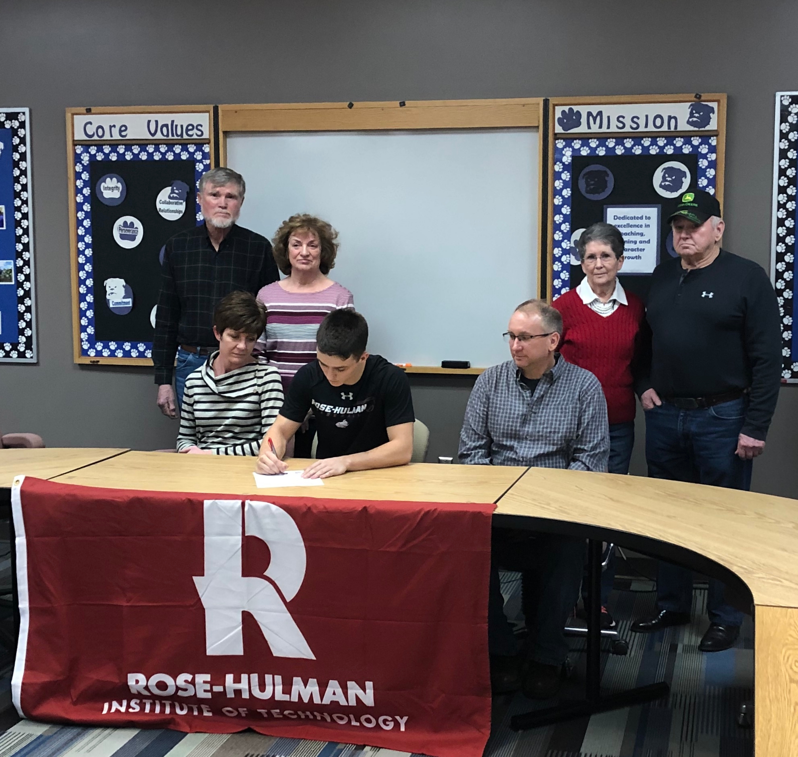 Clayton Sheurer Signs with Rose-Hulman Institute of Technolgy