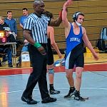 Middle School Wrestling Team Wrestles Tough Despite Incomplete Lineup