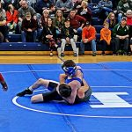 Middle School Wrestling Team Finishes 2nd at Home Meet