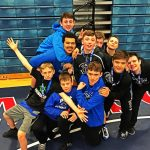 Middle School Grapplers Wrestle Well at Conference Championships