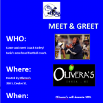 Meet Coach Farley Monday April 22nd at Olivera's
