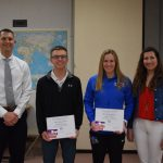 Hausserman and Gregory Named Independent Bank Athletes of the Month