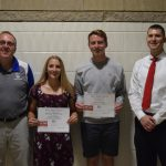 Brown and Waterman Named May Independent Bank Athletes of the Month