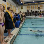 Boys Varsity Swimming finishes 7th place at Dewitt Invitational Swimming Competition