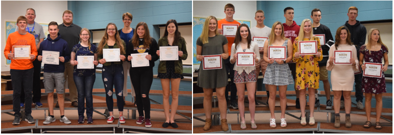 Student-Athletes Receive All-State and MHSAA Academic Recognition