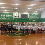 Boys Basketball Fall Clinic A Success