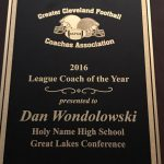 Head Coach Wondolowski Named GCFCA Great Lakes Conference COY