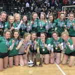 Volleyball Wins 2018 DII State Title
