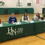 Fall 2018 Signing Day: Five Student-Athletes Commit