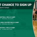 Last chance to sign up for June Summer Sports Camps