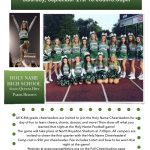Holy Name Youth Cheerleading Camp!